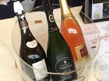 champagne richomme dans paris bistrots