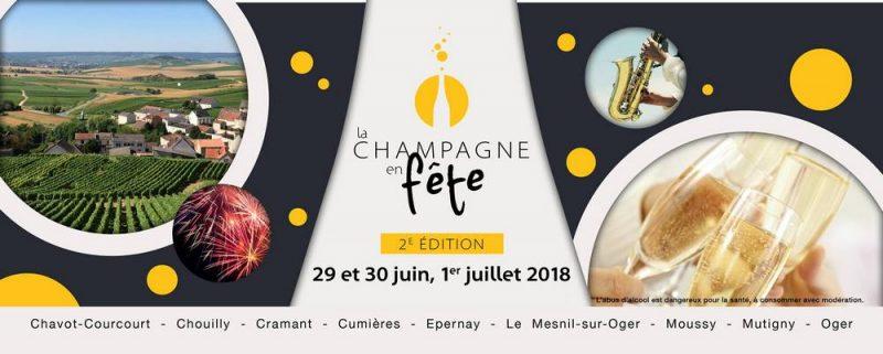 fêt du champagne juin 2018 cramant