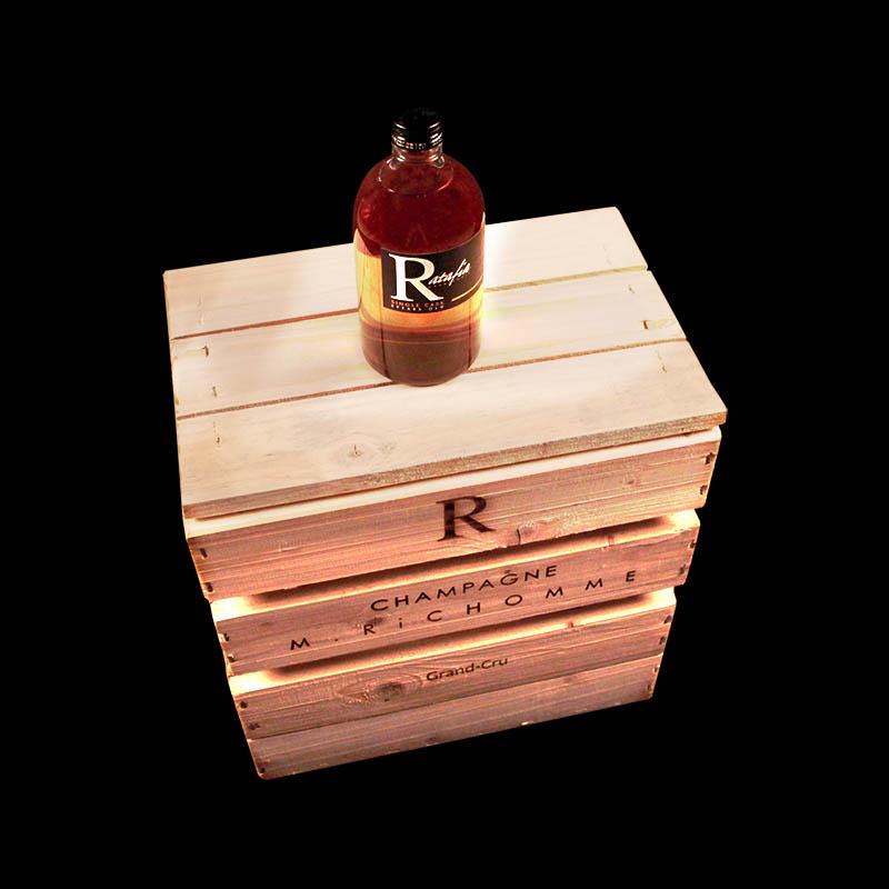 champagne Richomme caisse vintage