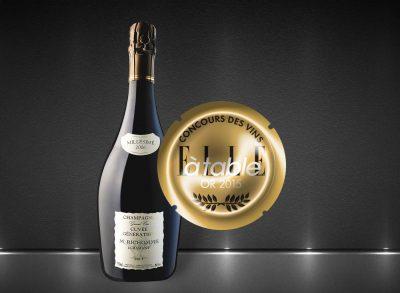 champagne richomme cuvée génération médaillée dans Elle à Table en 2015