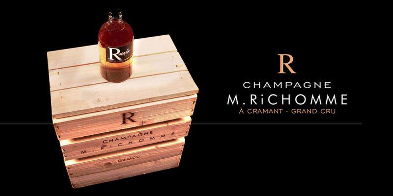 caisse ancienne champagne richomme