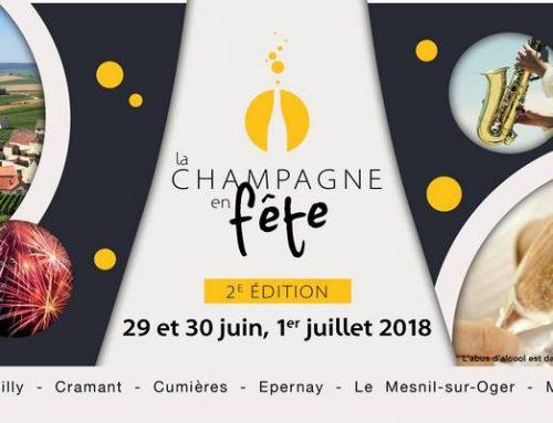 En Juin la fête du Champagne se pose aussi à Cramant