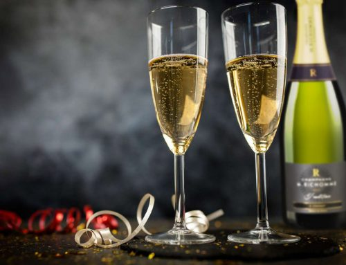 D'ou viennent les bulles de Champagne ?