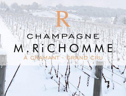 Champagne Richomme sous la neige